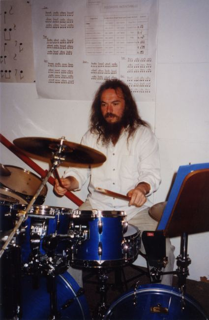 Roland during a rehearsal